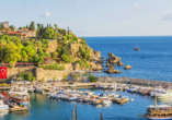 Blaue Reise Türkei, Hafen Antalya