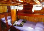 Blaue Reise Türkei, Beispiel Doppelkabine