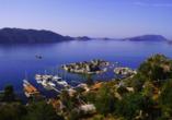 Blaue Reise Türkei, Landschaft
