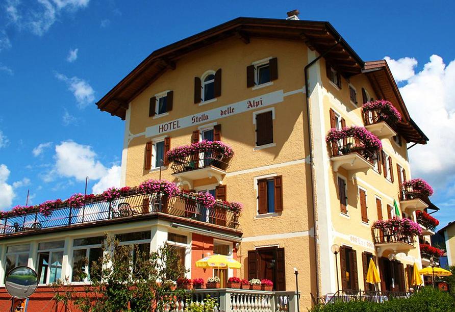 Rundreise Trentino-Gardasee, Hotel Stella delle Alpi