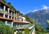 Rundreise Trentino-Gardasee, Aussenansicht La Limonaia