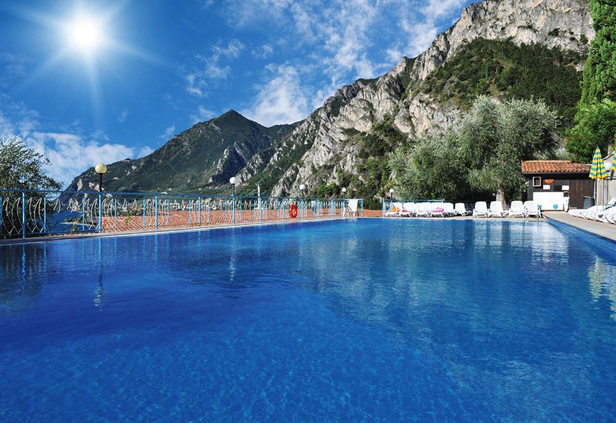 Rundreise Trentino-Gardasee, La Limonaia Pool