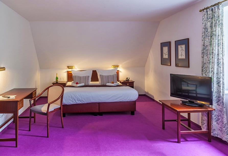 Hotel Gut Funkenhof, Zimmer