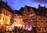 Hôtel Restaurant de l'Ange, Weihnachtsmarkt Mulhouse