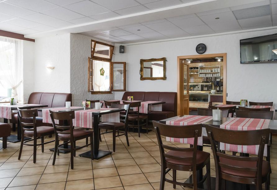 Landhotel Ringelsteiner Mühle in Moselkern an der Mosel Cafe