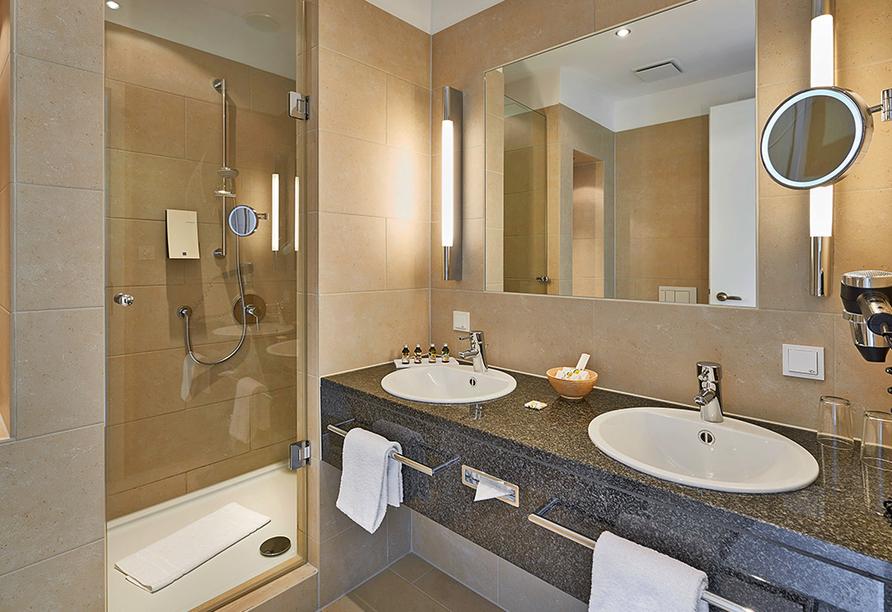Hotel Elbresidenz an der Therme, Bad Schandau, Sächsische Schweiz, Badezimmer