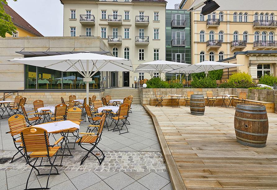 Hotel Elbresidenz an der Therme, Bad Schandau, Sächsische Schweiz, Terrasse