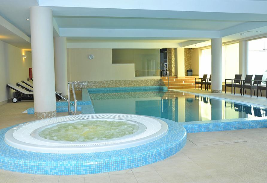 Hotel Atol Spa  in Swinemünde an der polnischen Ostsee, Hallenbad