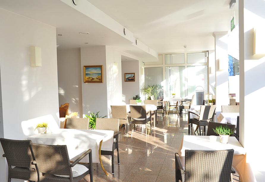 Hotel Atol Spa in Swinemünde an der polnischen Ostsee, Restaurant