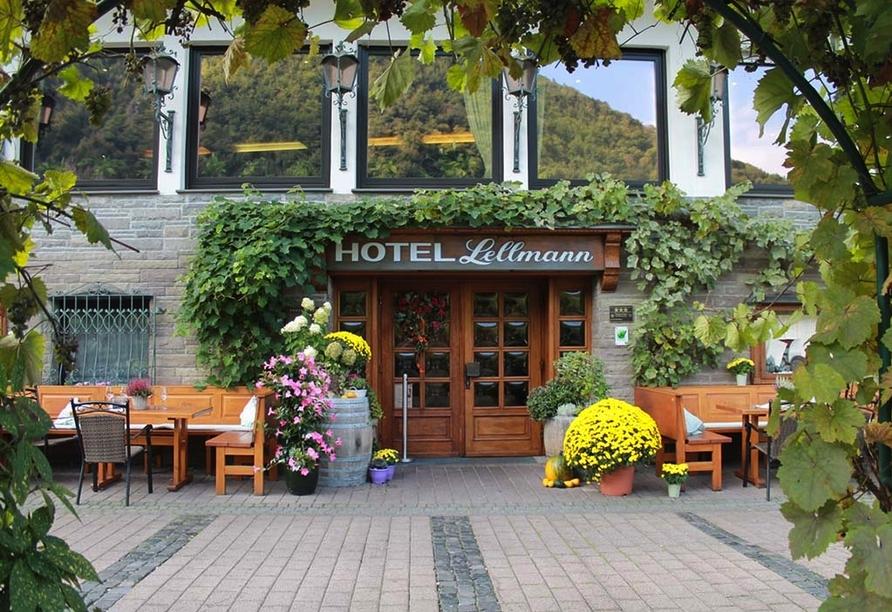 Hotel Lellmann in Löf, Eingangsbereich