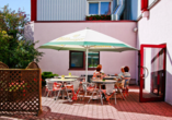 Hotel Stadt Mühlhausen in Mühlhausen in Thüringen Terrasse