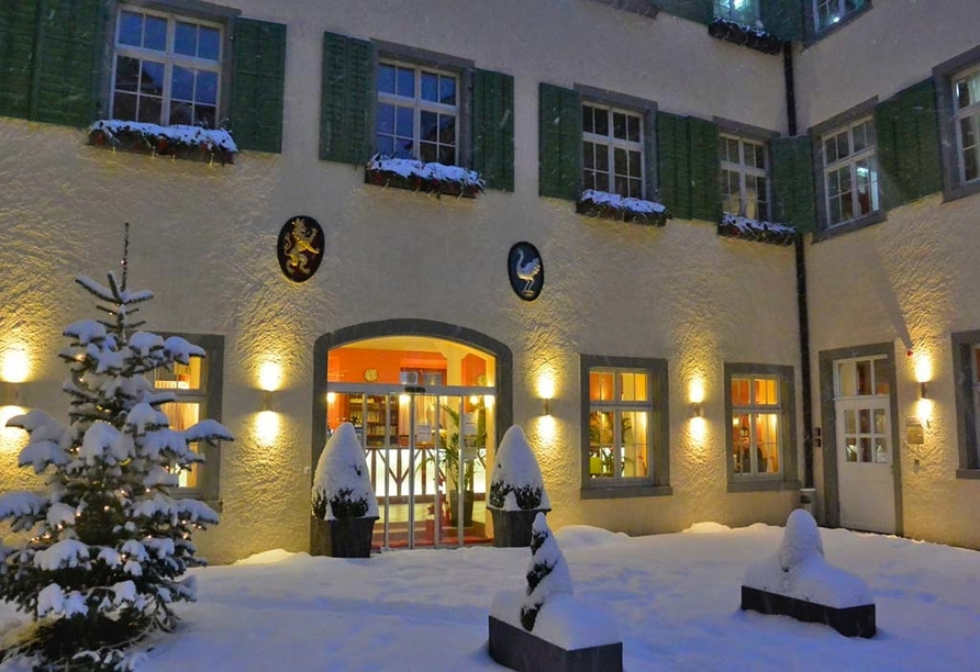 JUFA Hotel Meersburg am Bodensee, Eingang