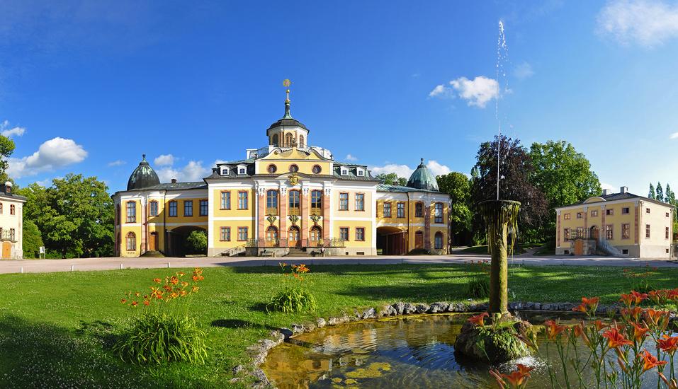 Romantik Hotel Dorotheenhof Weimar, Schloss Belvedere