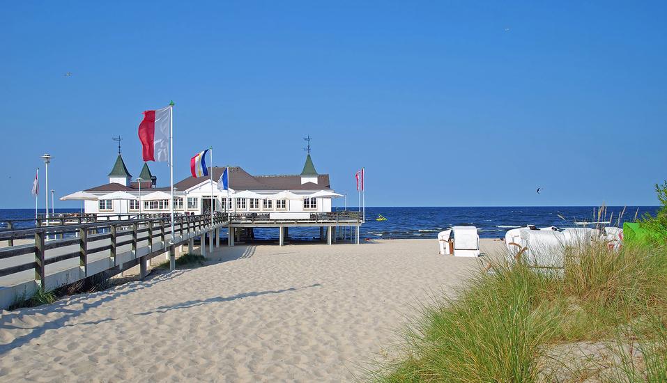 Hotel Kirschstein in Wolgast an der Ostsee, Ausflugsziel Ahlbeck