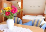 Hotel Kirschstein in Wolgast an der Ostsee, Zimmerbeispiel