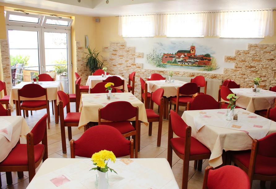 Hotel Kirschstein in Wolgast an der Ostsee, Restaurant