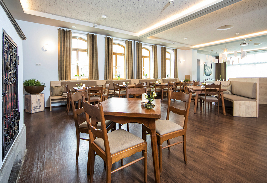 Hotel Saxenhof der Rhöner Botschaft, Restaurant Wohnzimmer