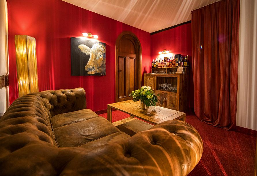 Hotel Saxenhof der Rhöner Botschaft, Lounge