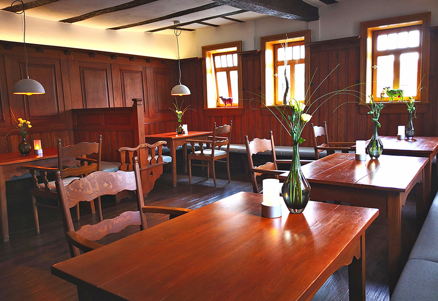 Hotel Saxenhof der Rhöner Botschaft, Restaurant BjoernsOx
