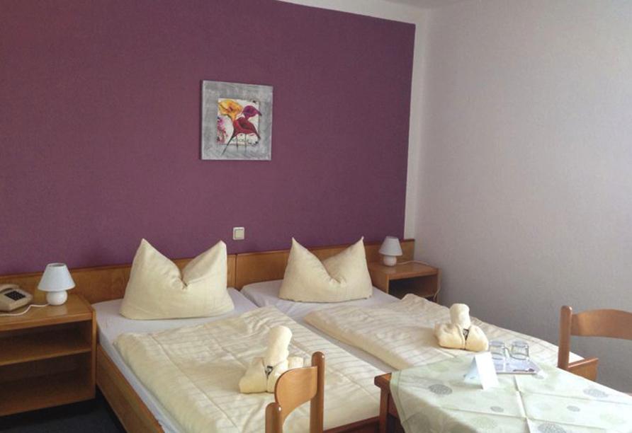 Hotel Zum Gründle in Oberhof, Beispiel Doppelzimmer