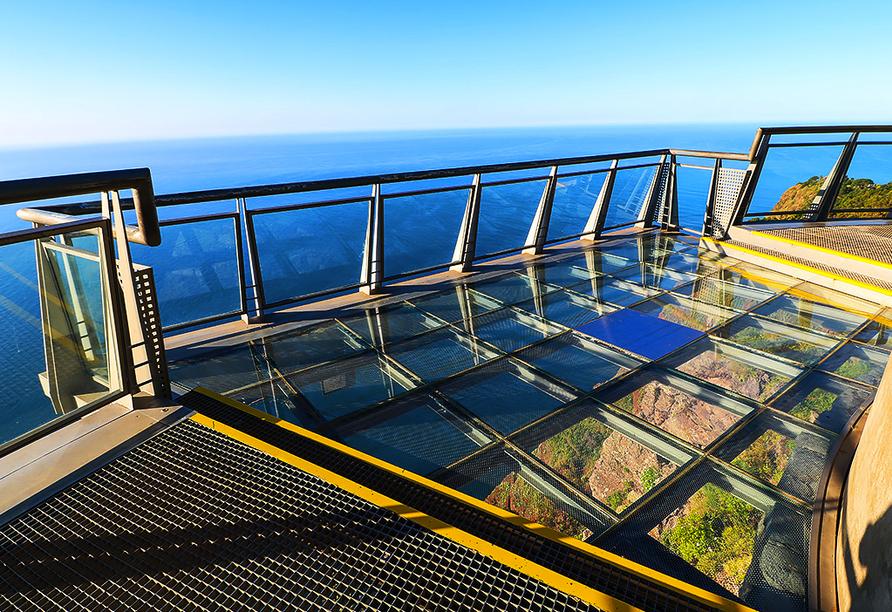Hotel Estrelícia in Funchal auf Madeira, Cabo Girão