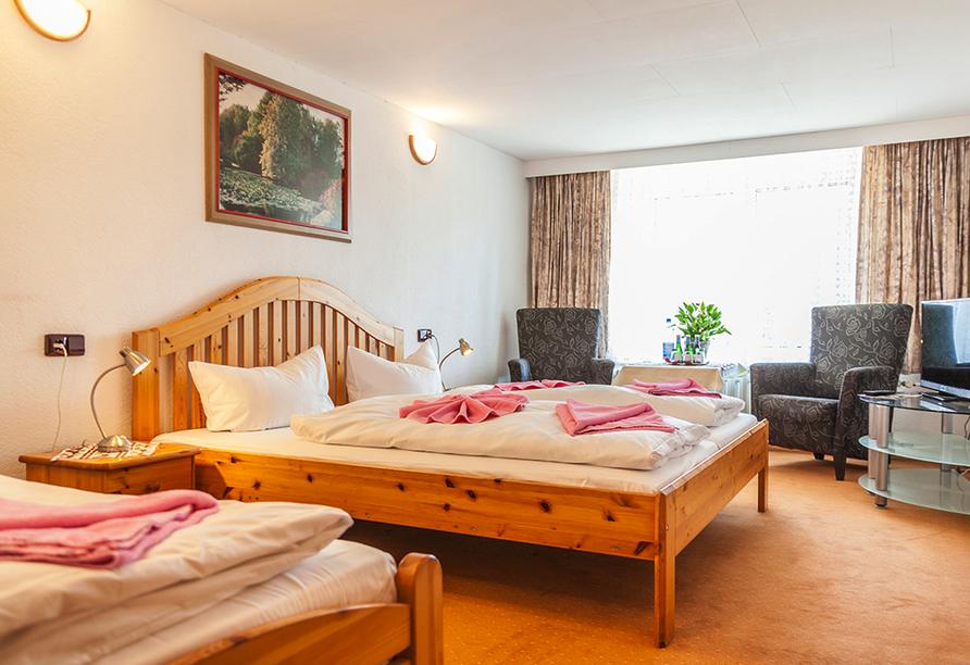 Hotel Schwarzes Ross in Oberwiesenthal im Erzgebirge, Zimmerbeispiel