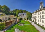 Hotel Schwarzes Ross in Oberwiesenthal im Erzgebirge, Kurpark Wiesenbad