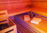 Hotel Schwarzes Ross in Oberwiesenthal im Erzgebirge, Sauna