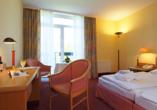 Seehotel Grossherzog von Mecklenburg, Beispiel Doppelzimmer