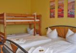 Aparthotel Oberhof, Thüringer Wald, Appartement für vier Personen