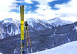 Post Hotel St. Valentin, Skigebiet