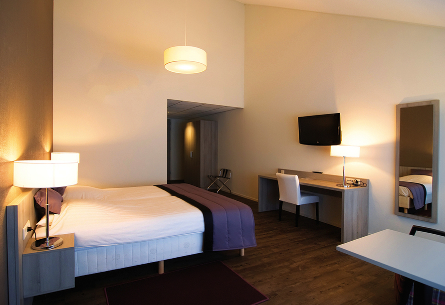 Best Western Plus Hotel Aduard, Beispiel eines Doppelzimmers