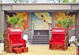 Orange Hotel und Apartments, Beachclub