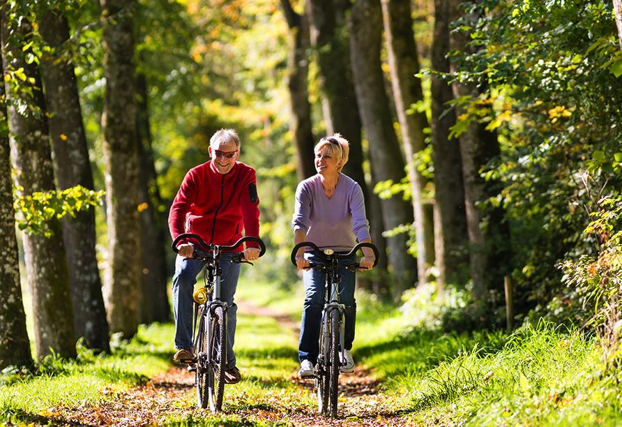 Hotel Ferien vom Ich in Neukirchen im Bayerischen Wald, Radfahren