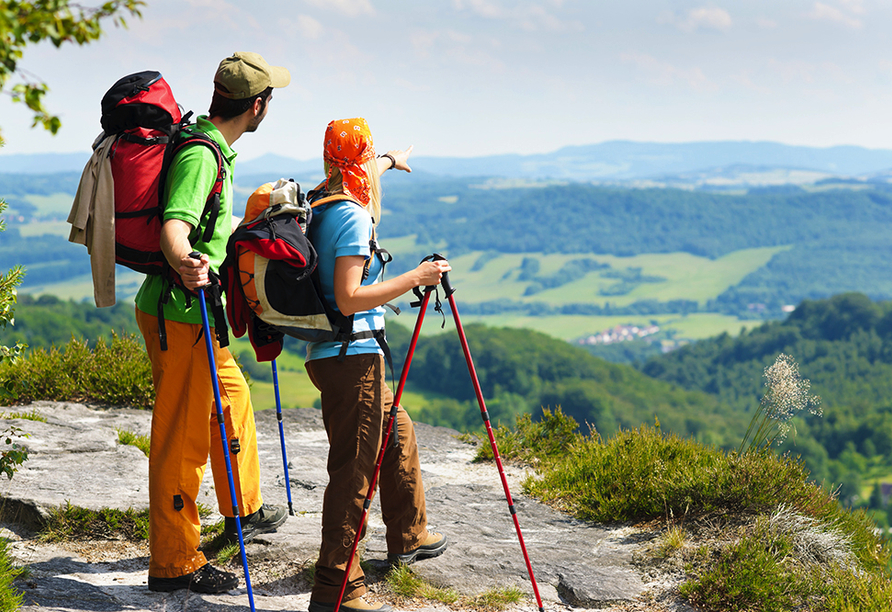 Hotel Ferien vom Ich in Neukirchen im Bayerischen Wald Wandern