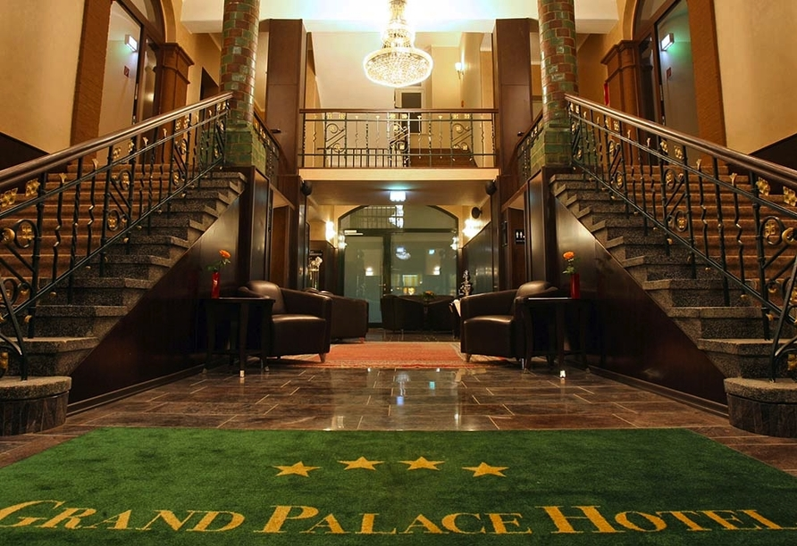 Grand Palace Hotel Hannover, Niedersachsen, Eingangsbereich