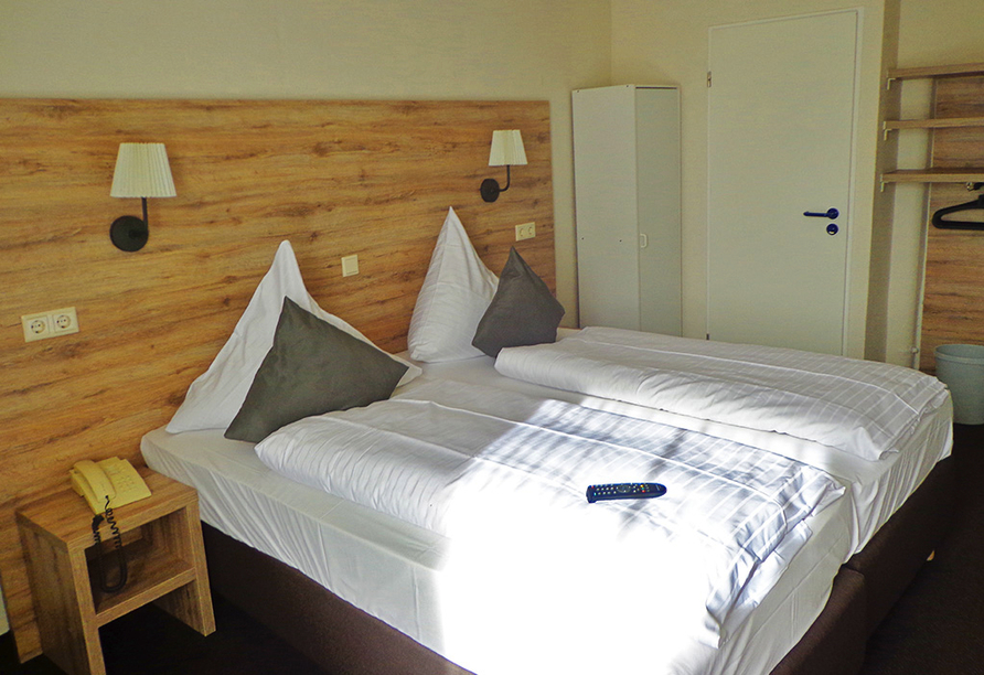 Hotel Am Wall, Soest, Münsterland, Doppelzimmer