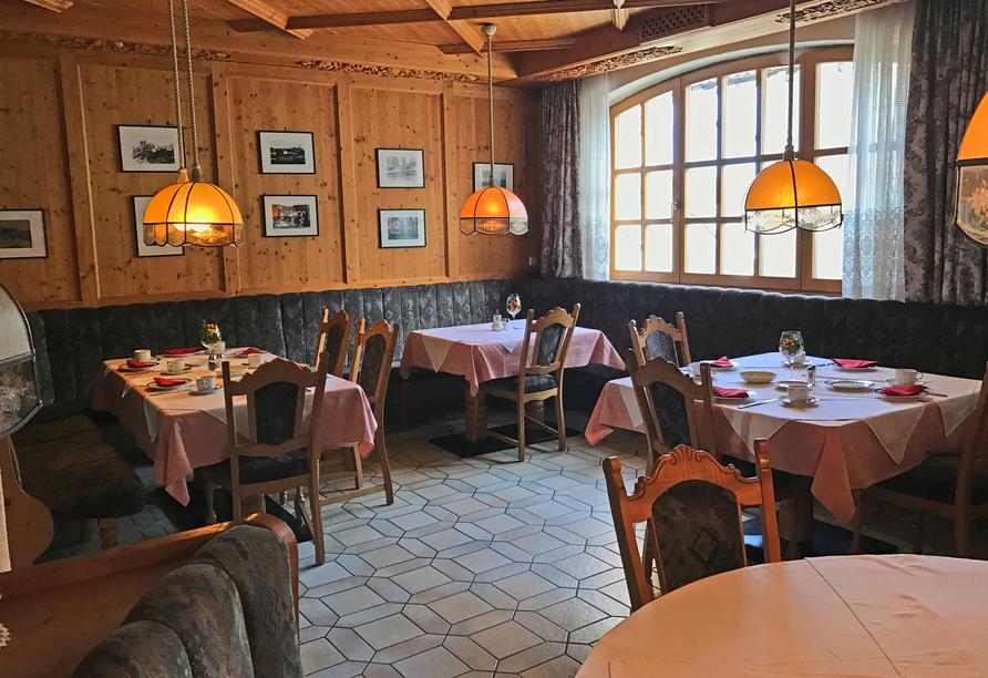 Restaurant im Gasthof Genosko
