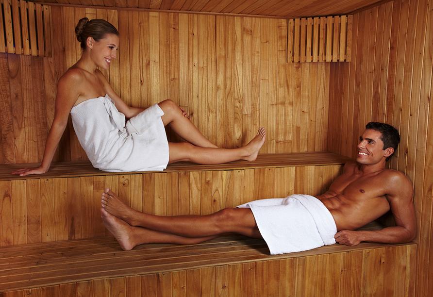 Hotel-Restaurant Barbarossahof, Sauna