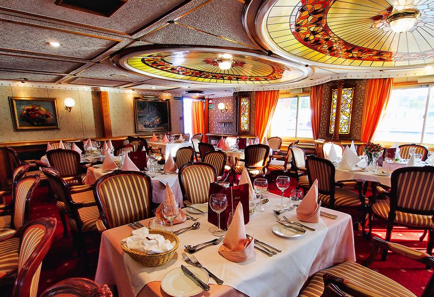 MS Prinzessin Katharina, Restaurant