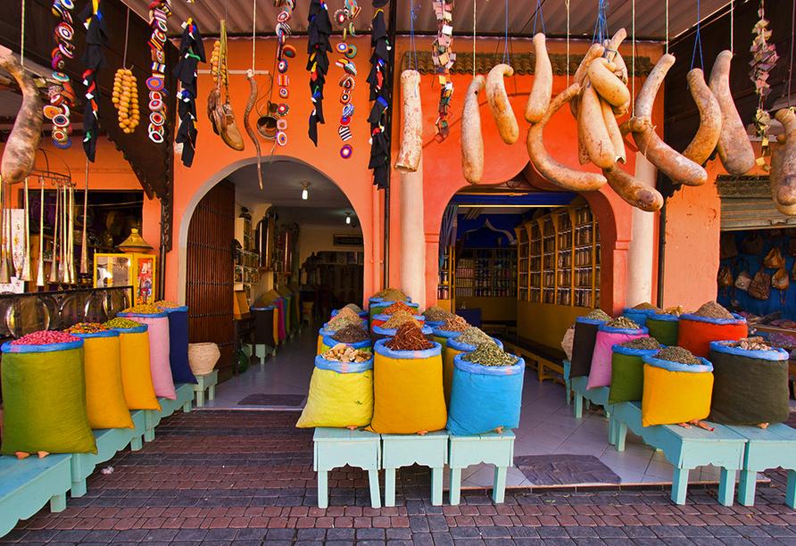 Busrundreise Marokko, Marrakesch, Gewürze