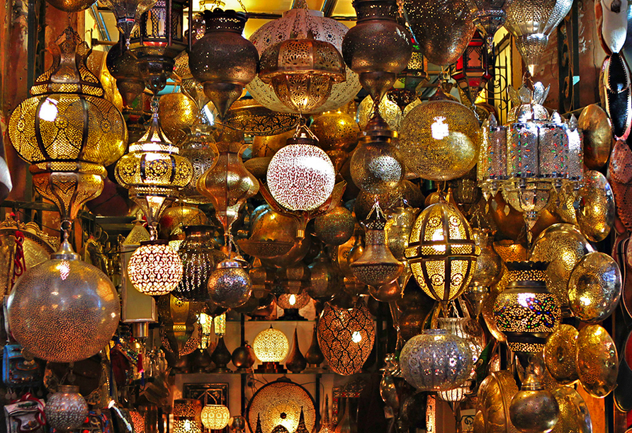 Busrundreise Marokko, Marrakesch, Djemaa el Fna