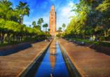 Busrundreise Marokko, Marrakesch, Koutoubina Moschee