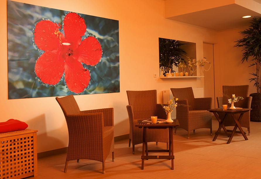 Wyndham Garden Lahnstein Koblenz Hotel in Lahnstein im Oberen Mittelrheintal, Wellnessbereich