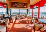 Kurhotel Etna in Kolberg Ostsee Polen, Panorama-Cafe
