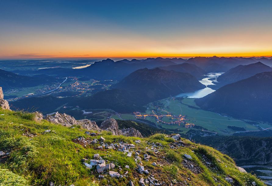 Best Western Panoramahotel Talhof in Wängle bei Reutte in Tirol, Ausflugsziel Plansee
