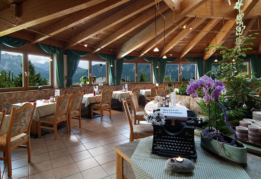 Best Western Panoramahotel Talhof in Wängle bei Reutte in Tirol, Restaurant