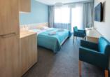 Aparthotel Nad Parseta in Kolberg an der polnischen Ostsee Zimmerbeispiel