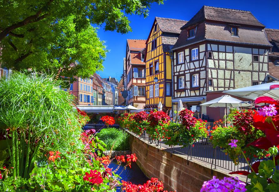 Hotel Le Bristol in Mulhouse, Die Stadt Colmar