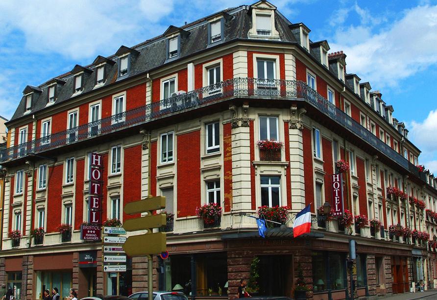 Hotel Le Bristol in Mulhouse, Außenansicht